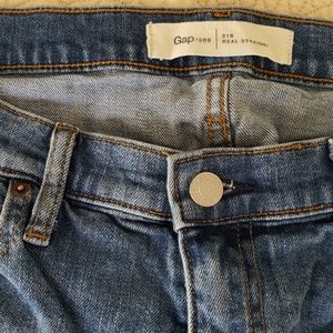 Gap Real Straight jeans, 31S